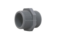 threaded nipple for pvc pipe in water system