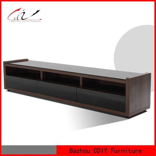 Designed wooden Lcd TV Stand with Drawers