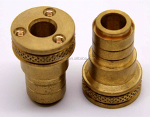 non standard brass cnc machined parts milling machined parts turned machined part