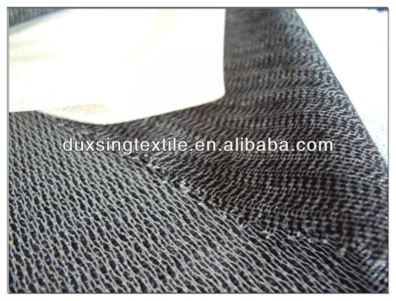 Tricot polyester viscose suit interlining to Indonesia