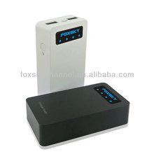 Newest battery back!!with 2 usb/led torch power bank 5600
