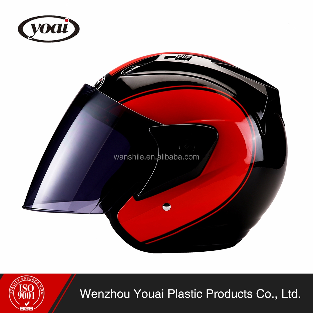 Hot selling eco-friendly style new design half face helmet