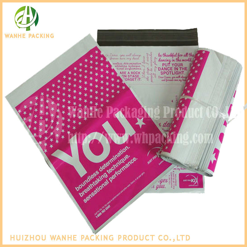 Custom postal mailing envelopes for shipping clothes / printed plastic bags