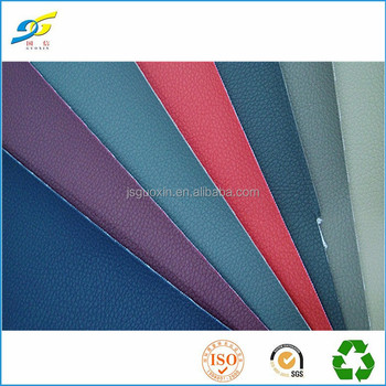 0.8mm #8001 lichee pattern pvc sofa rexine leather