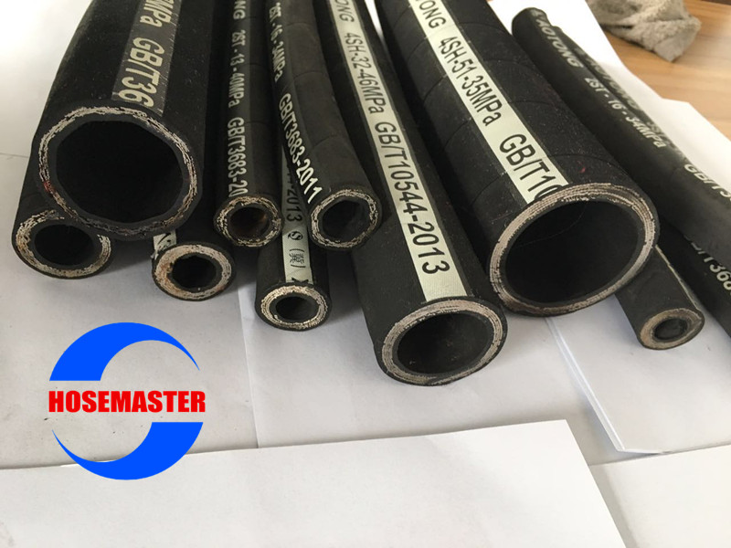 Reasonable Price High Pressure Fittings/Industrial Hydraulic Hose R2/2SN Carry Hydraulic Fluids