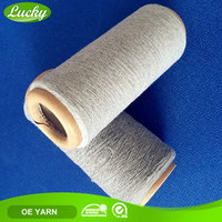 Yarn spinning mill competitive offer carded cotton polyester yarn for gloves