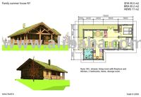 Heavy timber frame home
