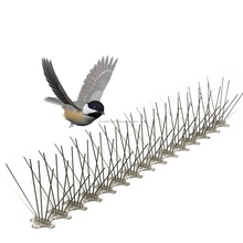 100% effective plastic anti bird spikes for wall