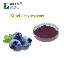 100% Pure natural high quality blueberry extract powder anthocyanin 25%