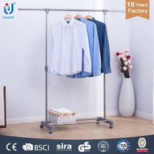 Movable bedroom single pole clothes iron stand