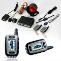 Two Way Car Alarm with LCD Remotes for Subaru