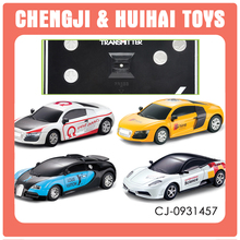 Remote control alloy car 1 43 scale rc cars with light