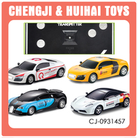 Remote control alloy car with light 1 43 scale rc cars