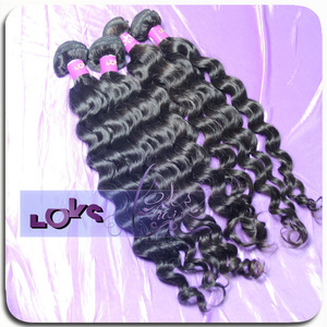 LOKS Hair Chinese Wholesale Distributors Offer 100% Unprocessed Natural Color Virgin Remy Hair