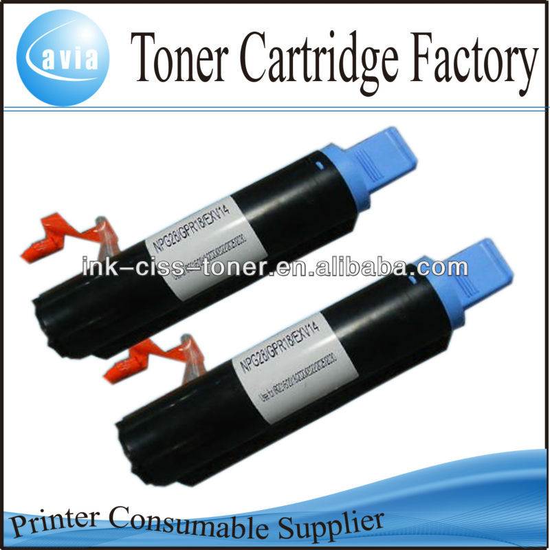 hot sale Copier toner NPG-28 GPR-18 EXV14 for Canon IR2016