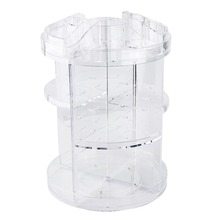 PS 360 Degree Rotating Cosmetic Makeup Tool Bottle Organizer