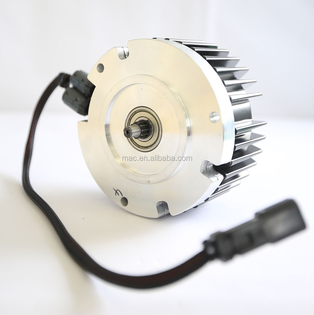 Mac 48v 1000w brushless geared hub motor for electric for Geared brushless dc motor