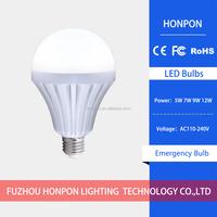 LED Rechargeable Emergency light 5w 7w 9w led lamp E27 led bulb B22