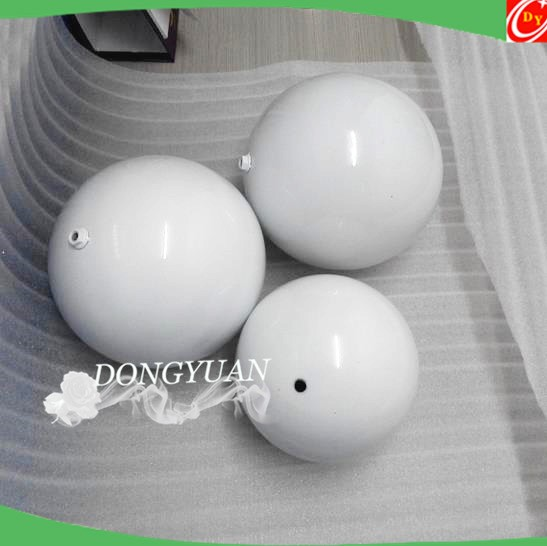 Stainless Steel Decorative Balls in White Color