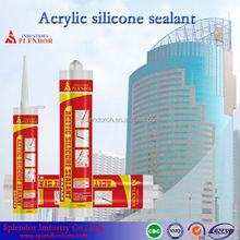 Cheap Acetic Silicone Sealant/ general purpose silcone sealant for household/ water clear rtv silicone sealant