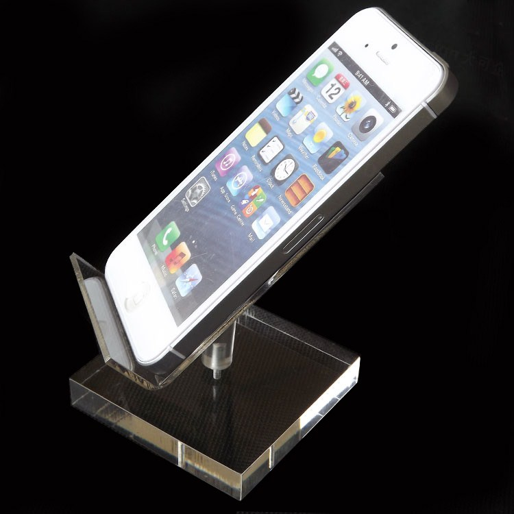 acrylic mobile phone stand clear acrylic keyboard stand