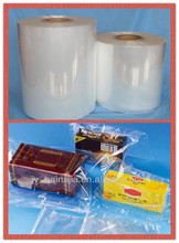pof polyolefin shrink wrap film/ polyolefin shrink film-centerfolded/single wounded/jumbos
