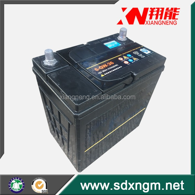 Best price and best quality 12N 45Ah motor start battery