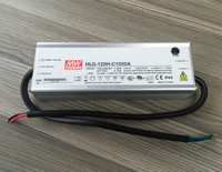 HLG-120H-C1400A, HLG-120H-C1400B Meanwell HLG-120H-C Series, 1400mA 120W LED Power Supply