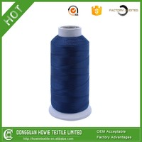 Top quality Cheap Dyed 100% thick nylon thread for leather sewing