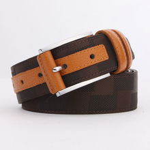 Men's Canvas Leather Golf Belt