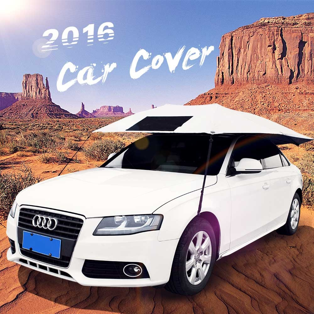 SUNCLOSE made in china outdoor uv protection car cover universal half non woven hood car cover