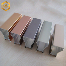 Custom made aluminum extrusion profile for industrial use