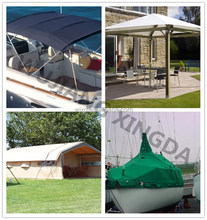 100% acrylic awning fabric with high quality