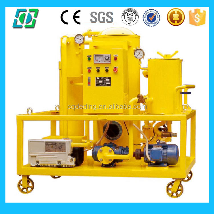 Double Staged Vacuum Transformer Oil Filtration Machine For Transformer
