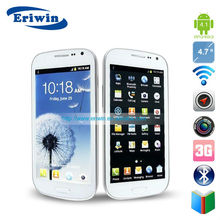 4.7inch dual core smart Mobile phone ZX-I9300 android 4.1 Dual Camera RAM512 ROM4G Dual sim cards dual standby 2G/3G/BT TP