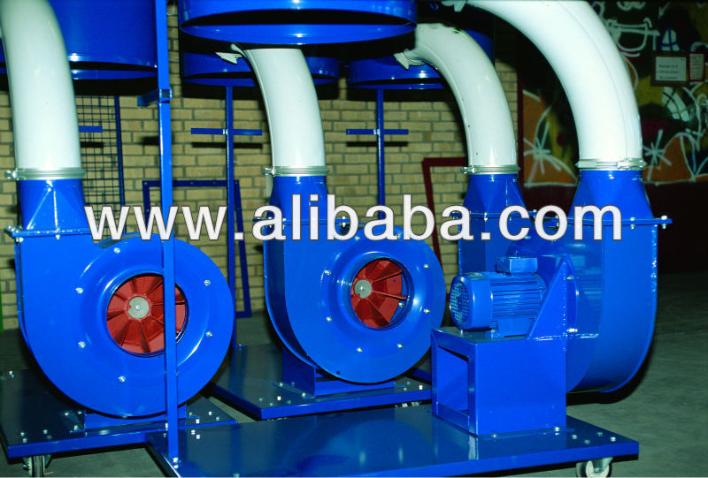 JK-35D ATEX Centrifugal Transport Blower/Fan For Material Handling