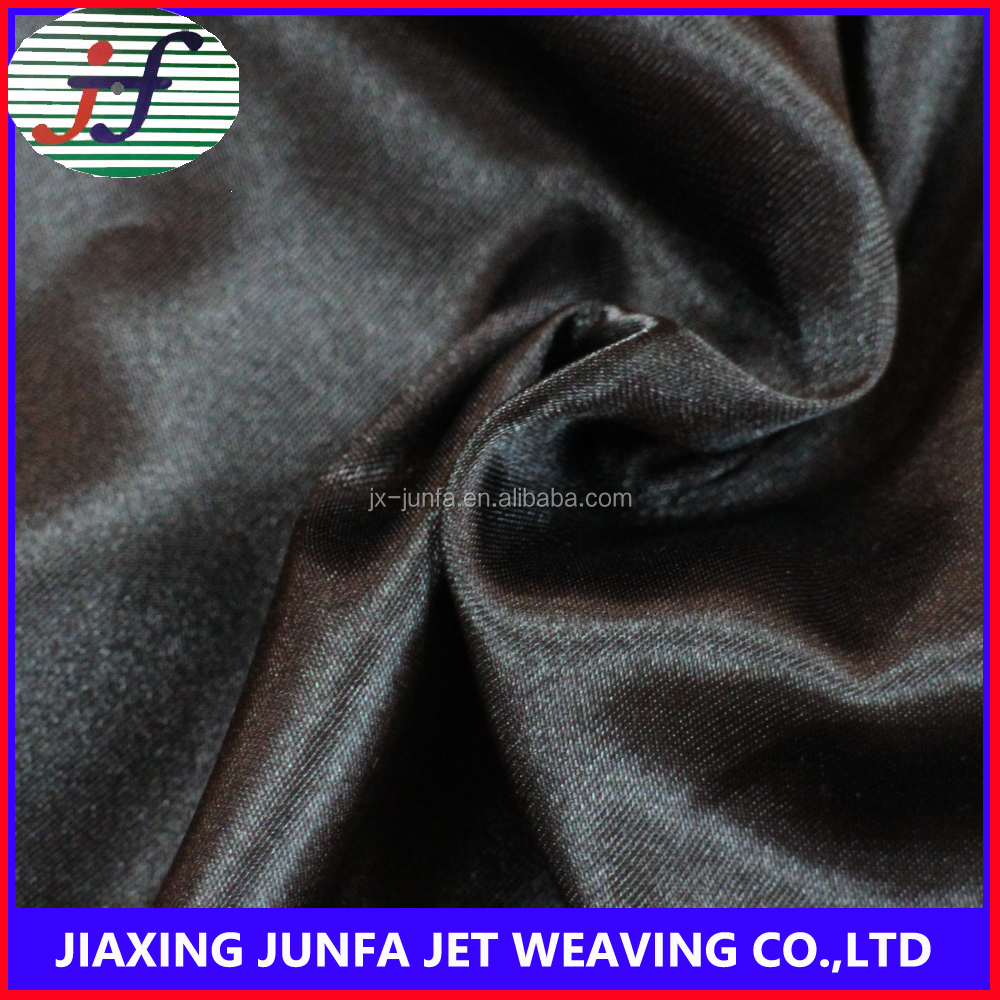 china suppliers under wear garment cloth twisted satin fabric