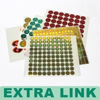 Colorful Printing Sticker Including Removable Sticker And Permanent Sticker