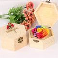 top rated colorful carving soap flower gold rose for Valentine's Day/Christmas/Birthday gift