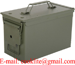 Mil-Tec US Military Steel Ammo Can Waterproof Ammunition Storage Box