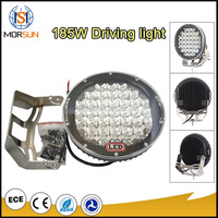 High quality 12v car ARB off-road 185w 9inch round led driving light Flood Round LED Driving Light