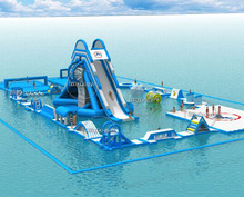 Gaint adult Inflatable floating water park commerical water park