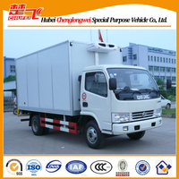 Dongfeng 90HP 15m3 refrigerator van, mobile food van for sale
