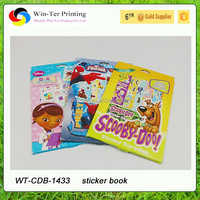 new design fashion and funny children sticker book
