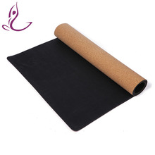 Eco-Friendly Non-Slip Natural Tree Rubber Yoga Mat Cork Recycled Rubber
