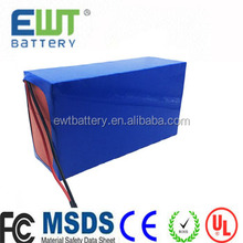 2017 EWT lithium battery pack 12v 24v 10ah 30ah 40ah 50ah 60ah 70ah 100ah lifepo4 batteries for ebike