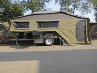 brand new design Camping trailer , 3 rooms