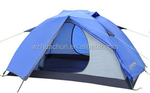 HC-CT015 2 person double layers waterproof camping tent/custom camping tent