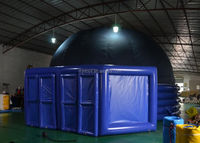 8m inflatable giant planetarium tent dome / inflatable planet tent / planetariums