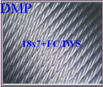 H.C. galvanized steel wire rope---Non Rotation Rope 18x7